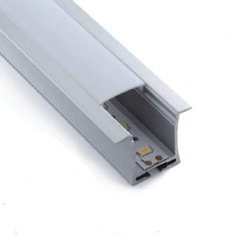 Profilé encastrable pour mur et plafond de 36x28mm (2 m)