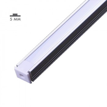 Profilé aluminium 8X12mm saillie 2m