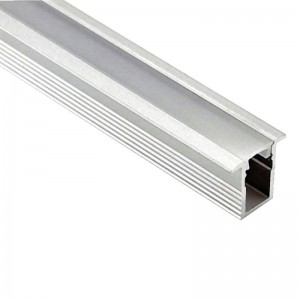 Profilé aluminium encastrable ruban LED 5mm