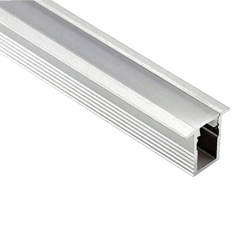 Profilé aluminium encastrable ruban LED 5mm