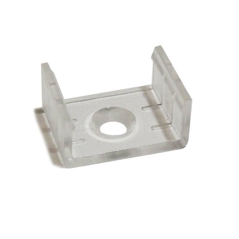 Clip fixation pour profilé 17X8-15mm