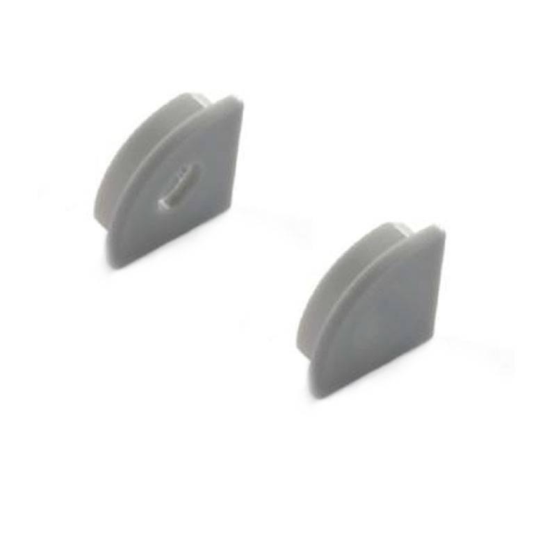 Embouts latéraux profilé de surface 16x16mm d'angle (1U)