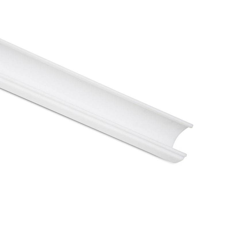 Diffuseur blanc opaque 2m de longueur pour profilé 20x27 (BPERF20x27)