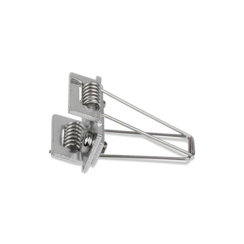 Ressort métallique pour fixation de profilés encastrables de 36x28mm