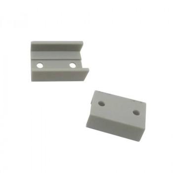 CONNEXION 180º pour profil aluminium 17X8MM