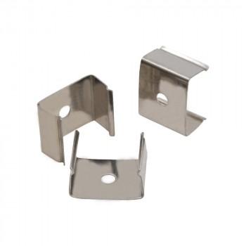 Clip de fixation métallique pour profilés 17X8-15
