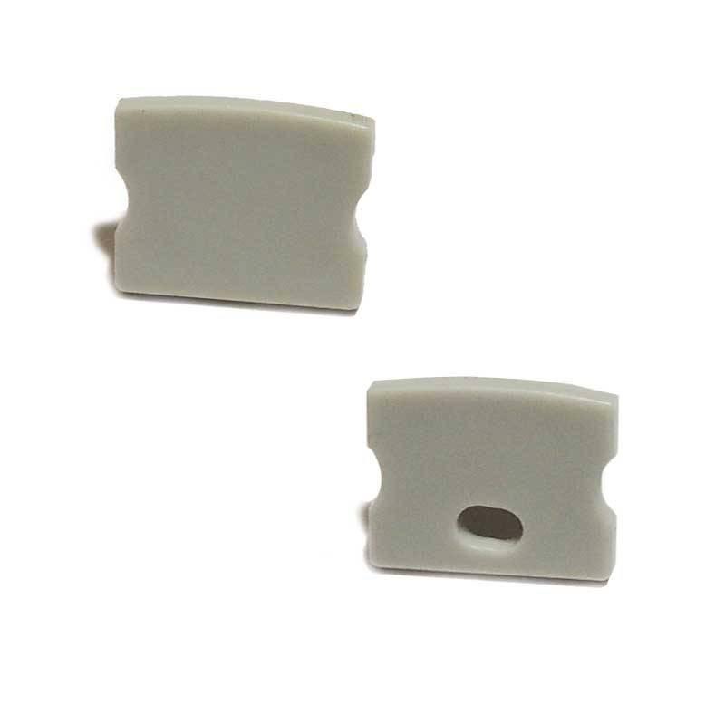 Embout latéral profilé de surface 17x15mm (1U)