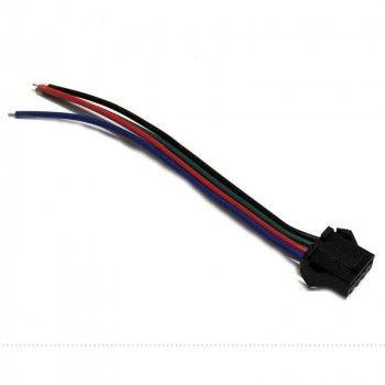Connecteur rapide RGB à quatre broches femelle pour ruban RGB