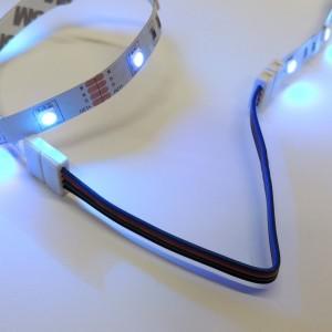 Connecteur ruban à ruban LED 10mm RGB avec câble
