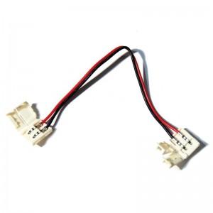 Connecteur ruban à ruban LED 8mm avec câble