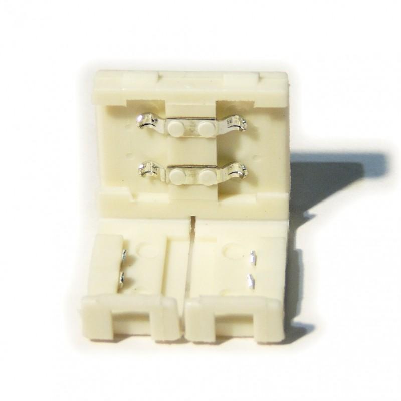 Connecteur ruban LED 8mm monocolore sans câble