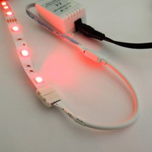 Connecteur ruban LED RGB 10mm pour contrôleur 4 broches