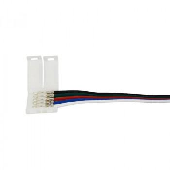 Connecteur rapide pour ruban LED RGBW 12mm avec câble