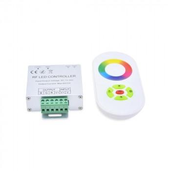 Contrôleur RGB 18A 12/24V DC télécommande circulaire RGB