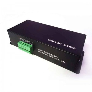 Contrôleur DMX-512 à 4 canaux DMX/RGB