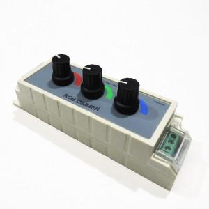 Variateur de lumière filaire RGB 12/24V-DC