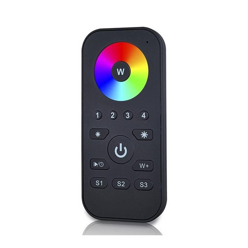 Télécommande RGBW radiofréquence, 4 zones de contrôle