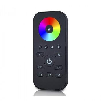 Télécommande RGBW à radiofréquence, 4 zones de contrôle