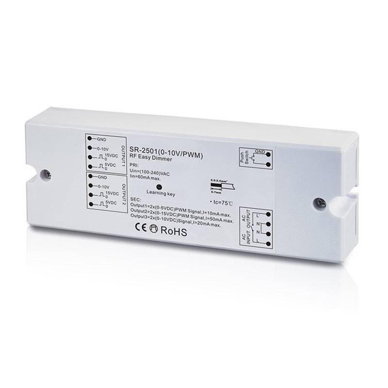 Récepteur générateur de signal 0-10 V Radiofréquence