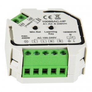 Regulateur Monocolore Triac 400W 230V (1 canal)