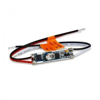 Mini Contrôleur PWM Monocolore 12-36V Contrôle par pression