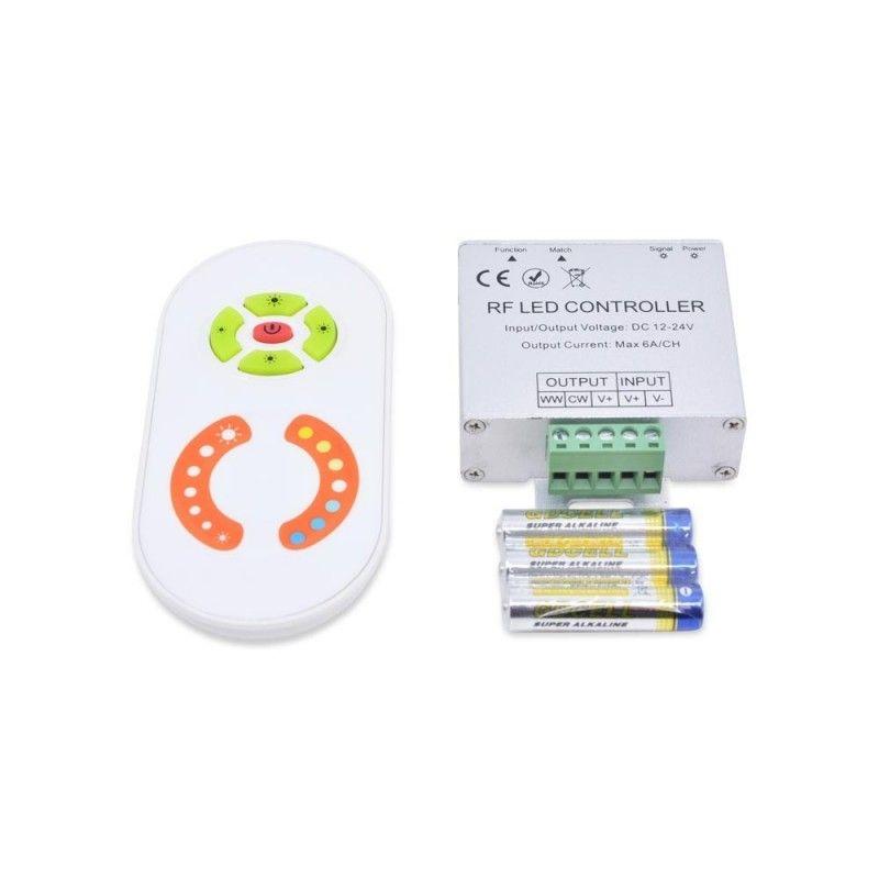 Variateur de température de couleur avec télécommande RF
