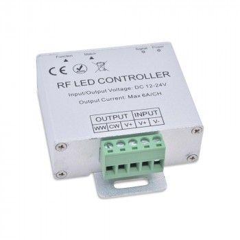 Régulateur (Dimmer) pour ruban monocolore 12V/24V, 4 Ampères