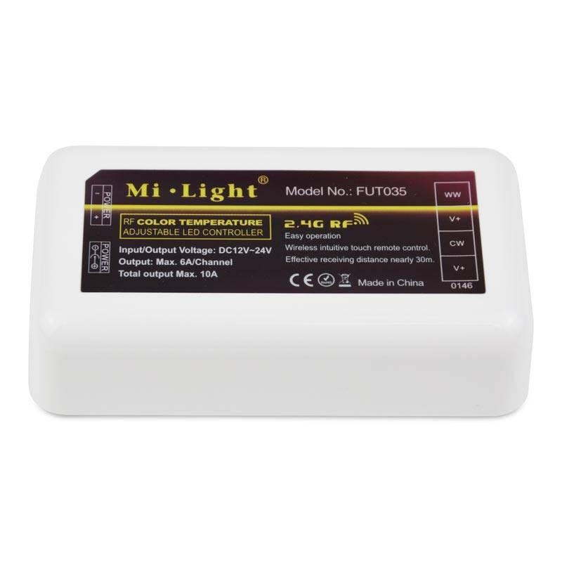 Contrôleur WIFI / Radiofréquence CCT 12/24V | Mi.Light