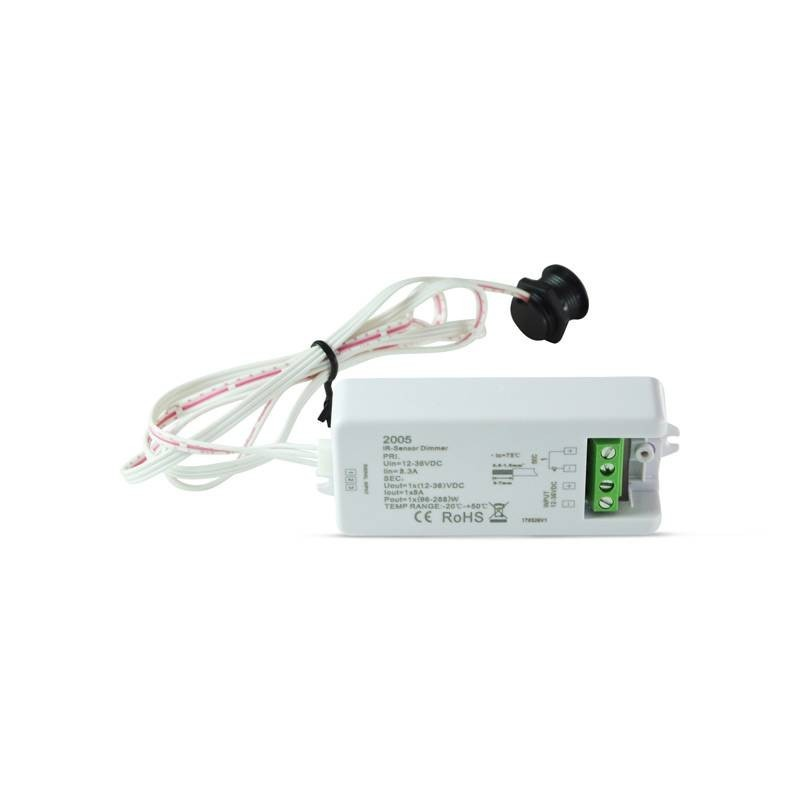 Interrupteur dimmable bouton Encastrable 12-36V