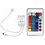 Controlador RGB manual para cambio de color