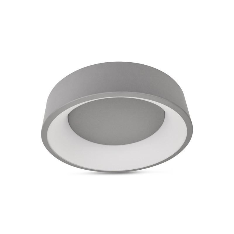 Plafonnier LED ONCAMO 2 27W Gris