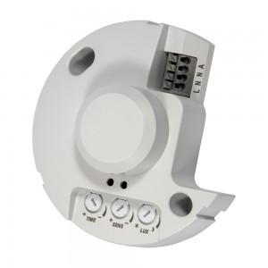 Détecteur de mouvement micro-ondes, saillie IP20