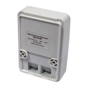 Détecteur de présence micro-ondes à 360º, saillie IP20