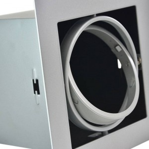 Cardan en acier pour une ampoule QR111 LED