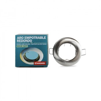 Support Encastrable rond en aluminium standard