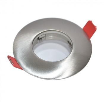 Support ampoule GU10 / GU5.3 étanche IP54 argent