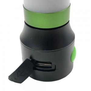 LANTERNE LED DE POCHE 1W AVEC POWER BANK USB
