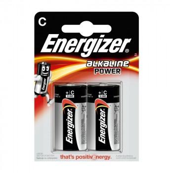 Pile Energizer Alkaline Power LR14 (C) 1.5V Blister 2 U