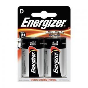 Pile Energizer Alkaline Power LR20 (D) 1.5V Blister 2U