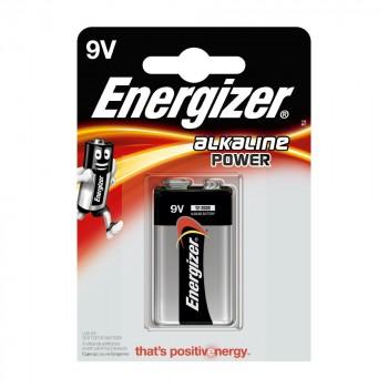 Pile Energizer Alkaline Power 6LR61 9V Blister 1 U