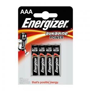 Pile Energizer Alkaline Power LR03 (AAA) Blister 4 U