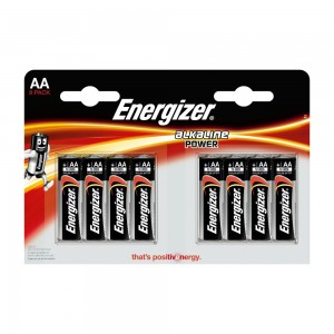 Pile Energizer Alkaline Power LR6 (AA) Blister 8 U