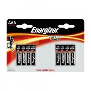 Pile Energizer Alkaline Power LR03 (AAA) 1.5V Blister 8 U