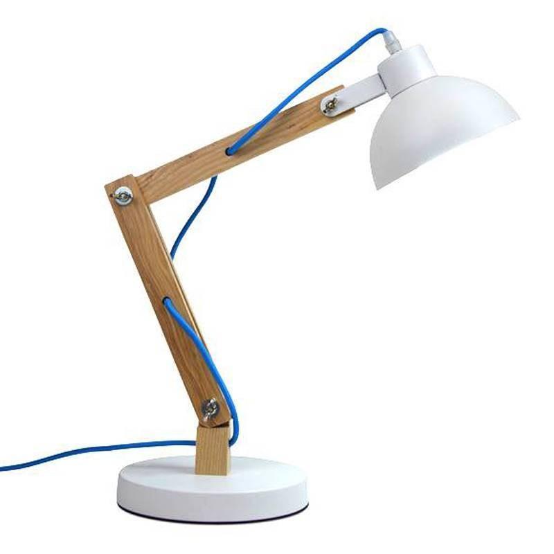 Lampe Flexo Dakota en Bois