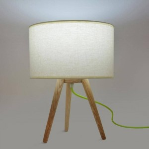 Lampe de table E27 abat jour
