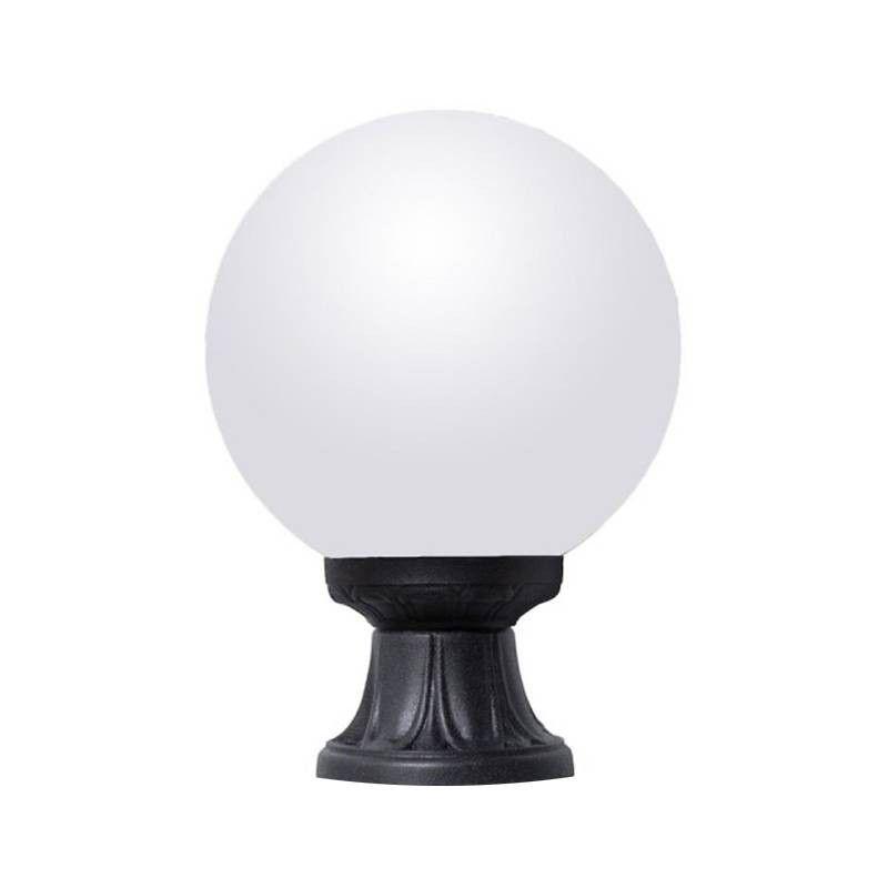 Lampe Pied Globe en Verre E27