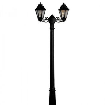 Lanterne Double E27 pour extérieur FUMAGALLI