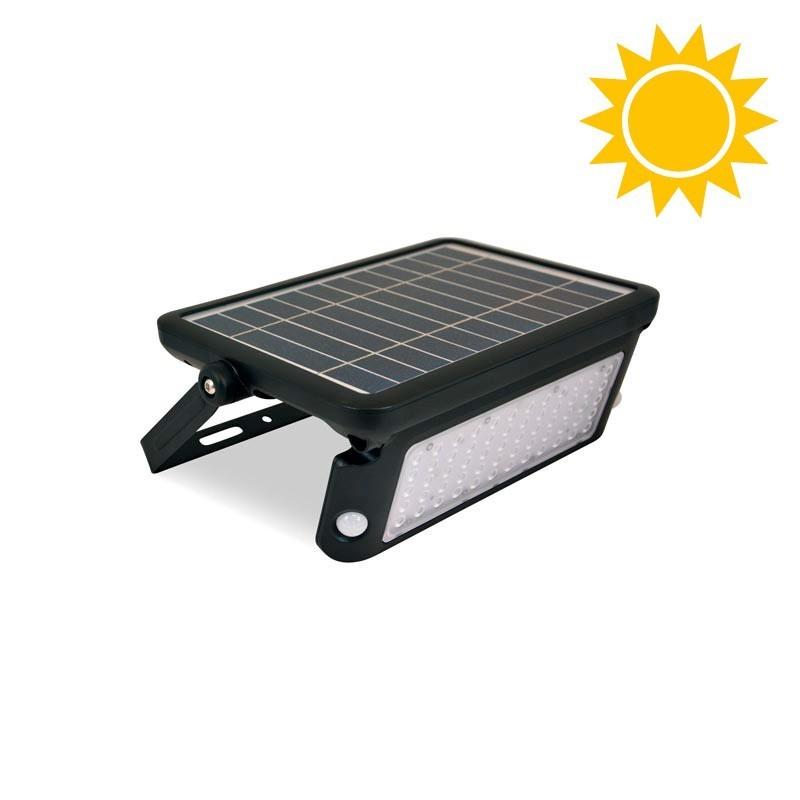 Projecteur solaire LED 10W IP65 avec capteur de présence PIR