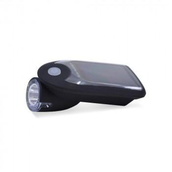 Lampe LED solaire pour bicyclette IP64 6500K 240lm