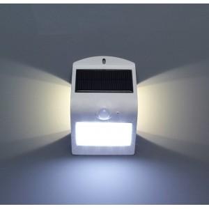 Applique LED solaire pour extérieur 1.5W IP65 avec détecteur PIR de mouvement et crépusculaire